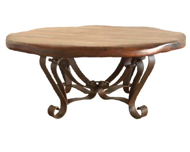 Free Form Mesquite Wood Cocktail Table Western Passion