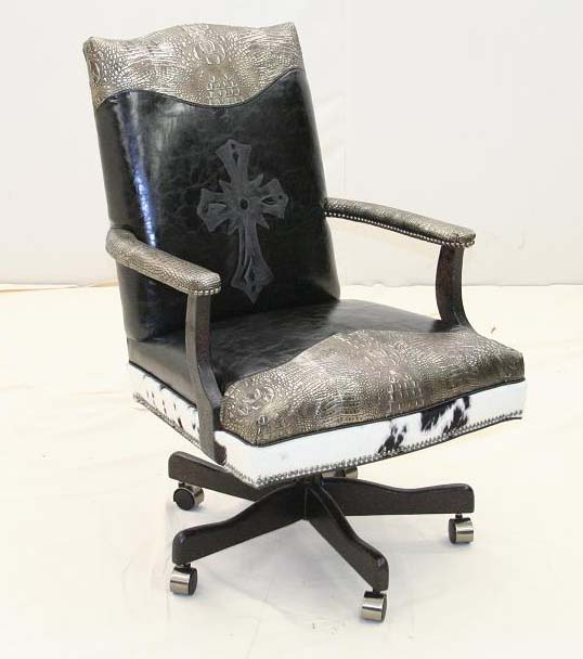Spanish Cross Executive Chair Western Office Furniture