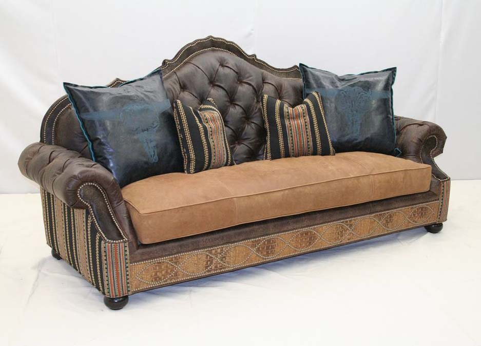 Boundary trail sofa old hickory tannery furniture free for A p furniture trail