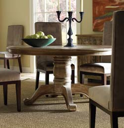Aden Rustic Round Dining Table Western Dining Tables - Free Shipping!