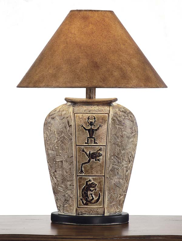 Desert Collection Lamp 234SB Western Lamps