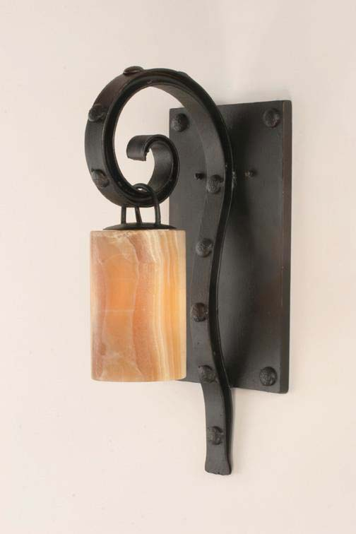 Forged Iron Sconce Antibes1 Western Passion