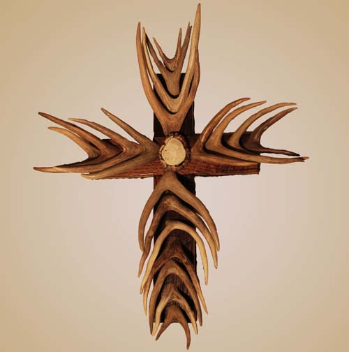Antler Cross Western Passion