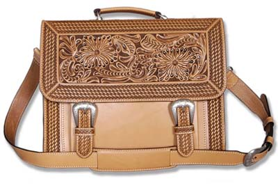 Western Briefcase Natural Western Passion