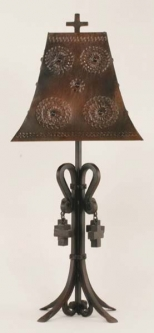 Iron Table Lamp Cathedral