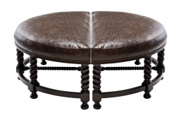 Western Ottomans Leather Amp Cowhide Ottomans