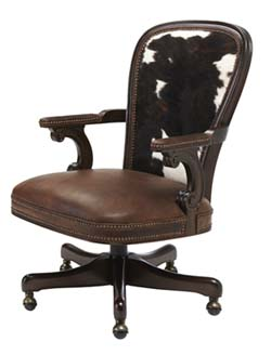 Bourbon Leather Office Chair Western Office Furniture