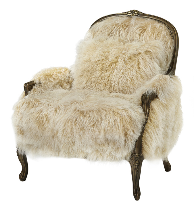 Exceptional Fancy Sheepskin Accent Chair Western Accent Chairs