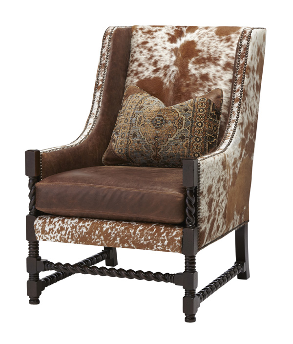 Longhorn Accent Chair Western Passion