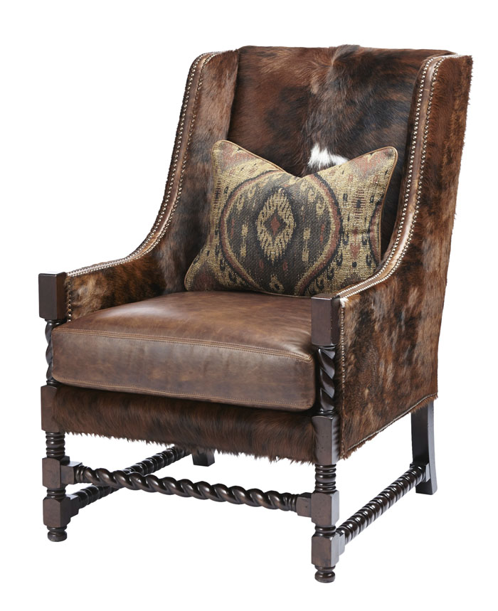 Berkshire Bourbon Accent Chair Western Accent Chairs