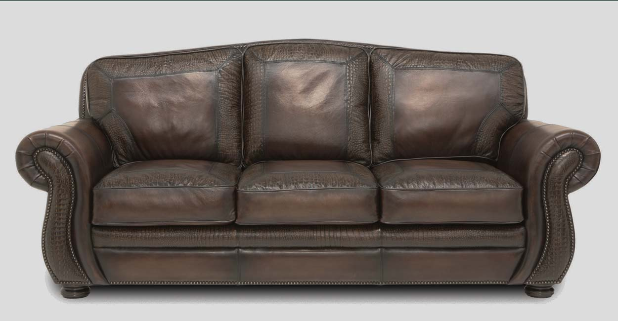 Specialty Heritage Leather Sofa Western Sofas And