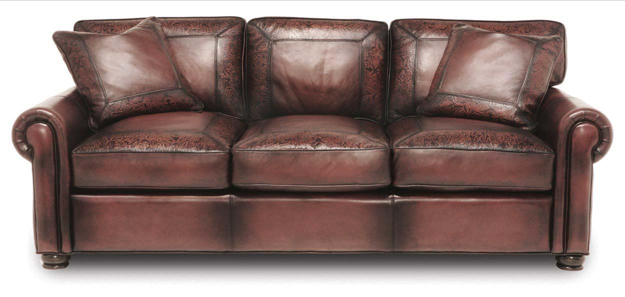 Specialty Marco Leather Sofa Western Passion