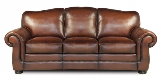 Specialty Classic Leather Sofa