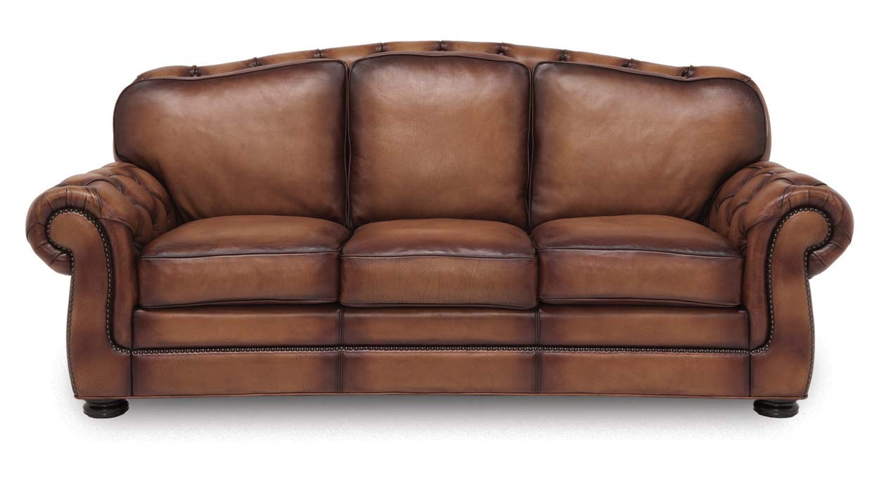 Specialty Heartland Leather Sofa: Western Passion