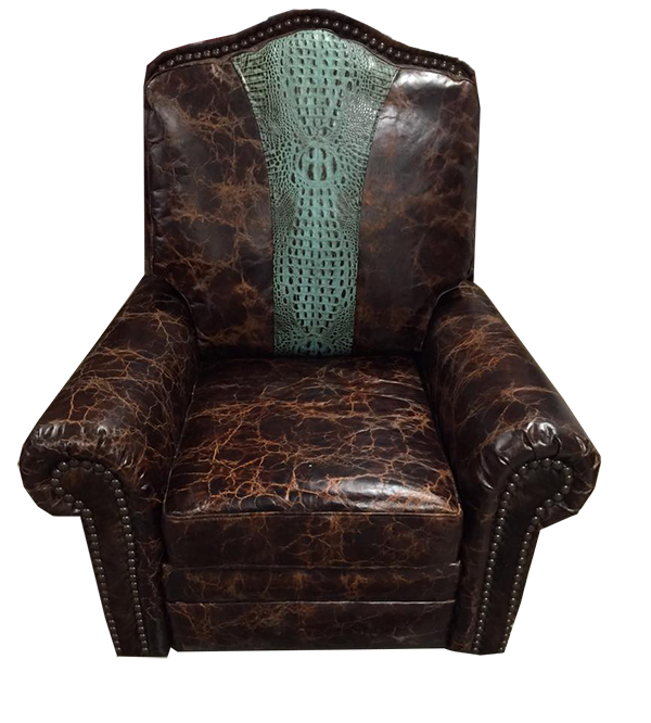 Mojave Recliner Glider Swivel Chair Western Passion
