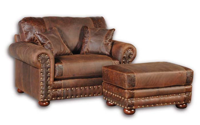 western leather club chair 20 western accent chairs - Leather Club Chairs