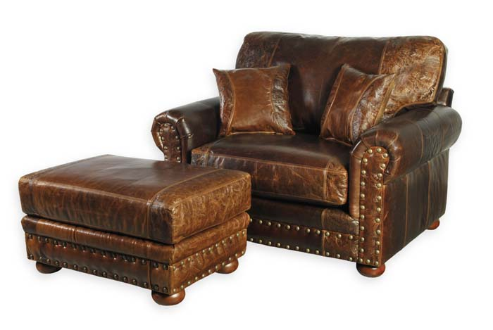 Western Leather Club Chair 33 Western Passion