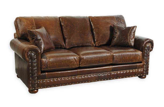 Western Leather Sofa 33