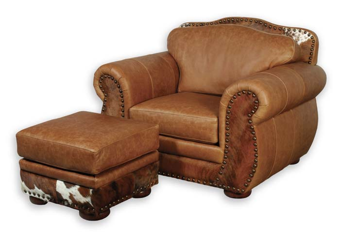 Western Leather Club Chair 70 Western Passion