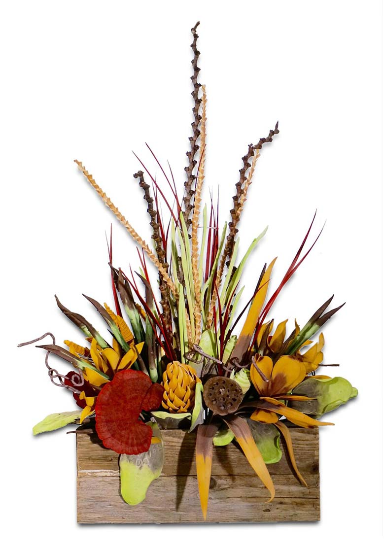 Rustic Floral Centerpiece Western Passion