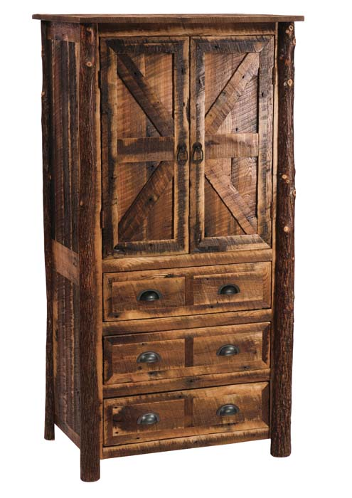 Barnwood Rustic Armoire Western Passion