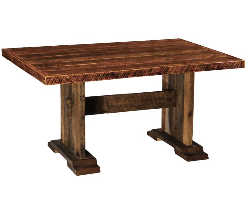 barnwood harvest dining table western dining tables free