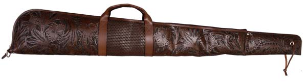 Tooled Leather Gun Case Western Passion
