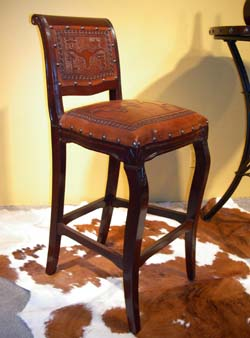 Imperial Western Barstool Set Of 4 Western Barstools And