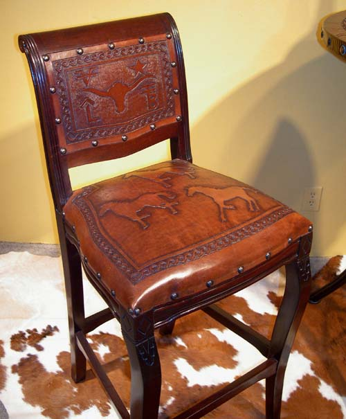 Imperial Western Barstool Set Of 4 Western Passion