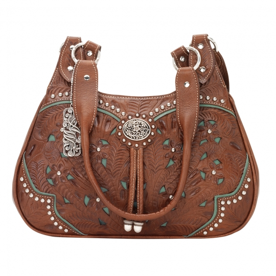 Lady Lace Western Purse Turquoise
