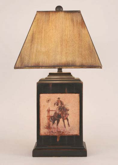 Bronco Western Lamp Western Lamps Free Shipping