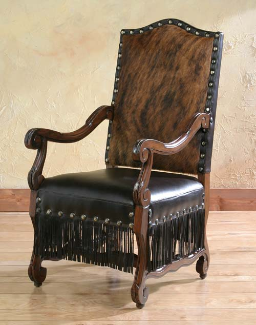 Cabana Fringe Arm Chair Western Passion