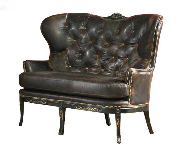 Valencia Rustic Loveseat Western Sofas And Loveseats