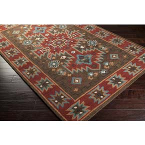 geometric style rug 1004 western rugs - free shipping!