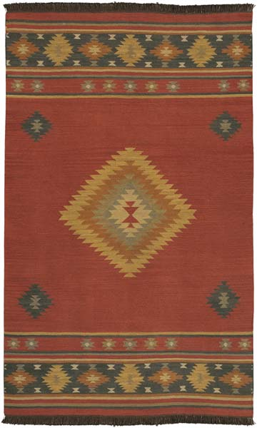 Southwestern Style Area Rug 1033 Western Passion