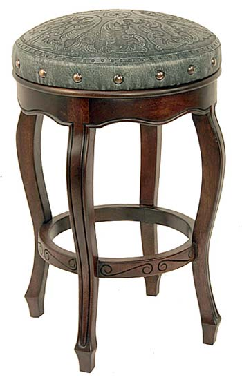Tooled Western Stool Turquoise Set Of 2 Western Barstools And Bars Free Shipping