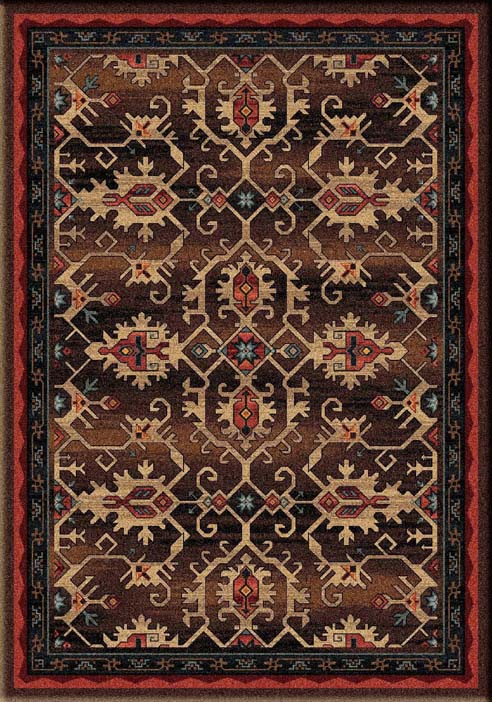 Pagosa Area Rug Western Passion