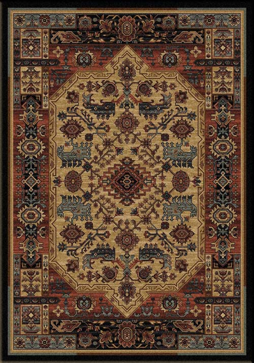 Inspiration Area Rug Western Passion