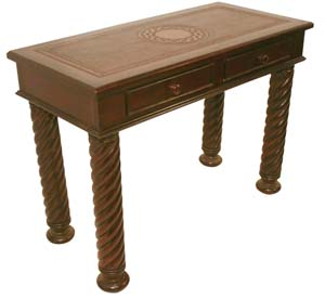 Small Leather Western Desk Western Office Furniture Free