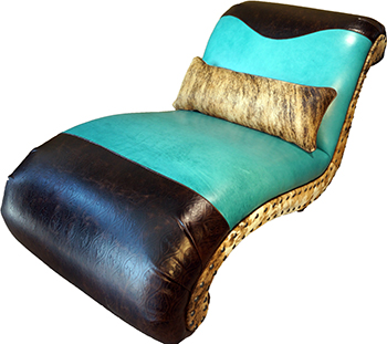 Sadie luxury chaise lounge western sofas and loveseats for Chaise western