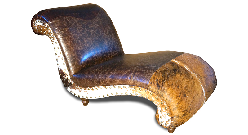 Panhandle western chaise lounge western sofas and for Chaise western