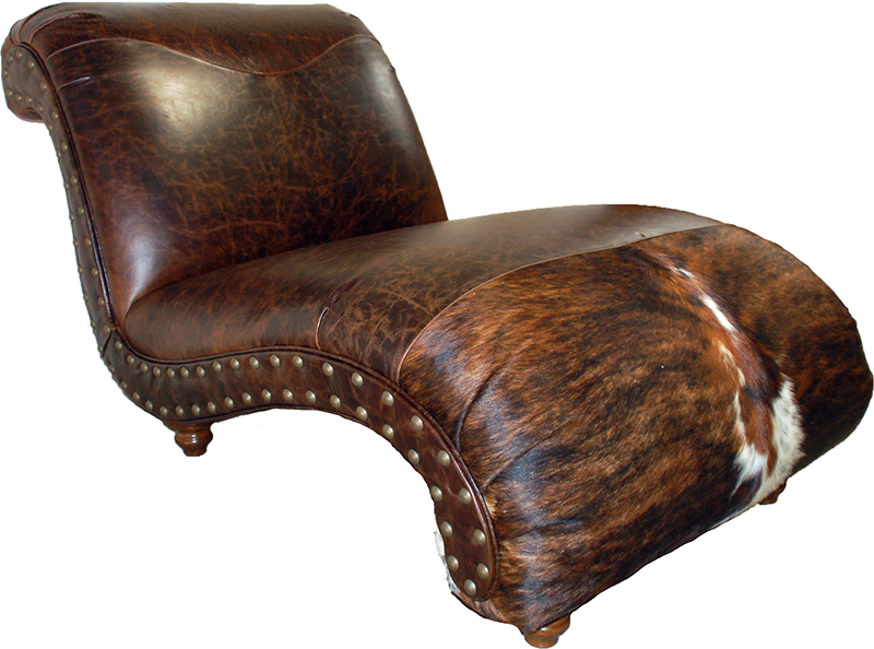 Hill country western chaise lounge western sofas and for Chaise western