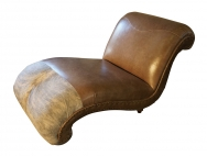 Hill country western chaise lounge western passion for Chaise western