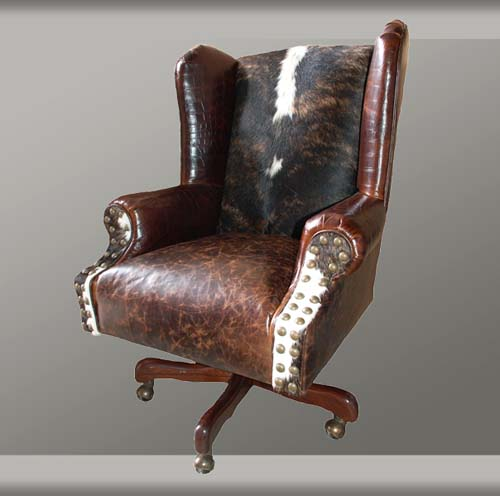 Western Style Executive Office Chair Western Office