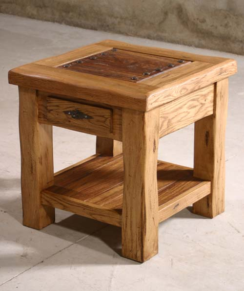 Charming Delicia End Table Western Cocktail And End Tables