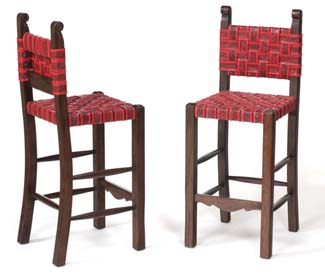 Embossed Strap Western Barstools Set Western Barstools And Bars Free Shipping