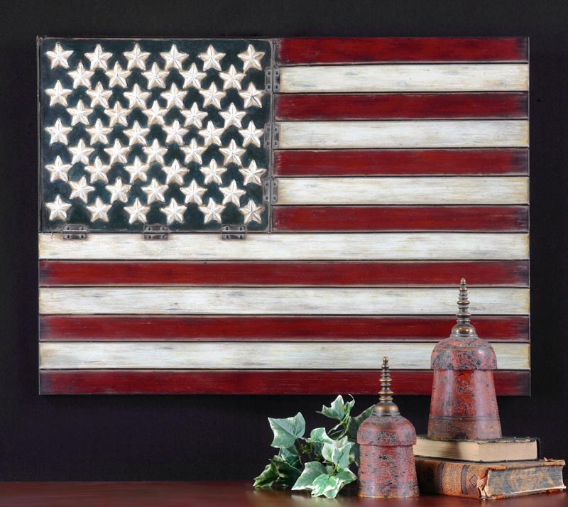 American Flag Wall Hanging Western Passion