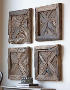 Wall Panel Decor rustic wood wall panel western accessories decor - free shipping!