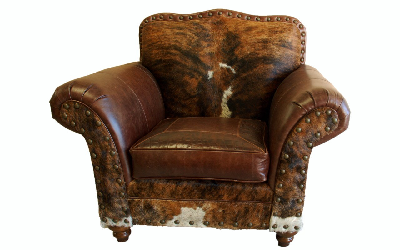 Vaquero Western Leather Club Chair Western Passion
