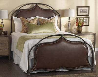 Wesley Allen Merced Iron Bed Queen Iron Beds Free Shipping